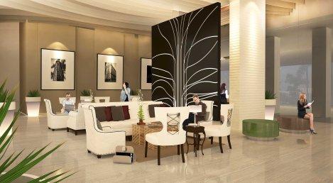 Uptown Ritz Residences Lobby