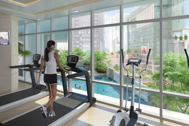 Gym Uptown Residences Patty Abila 0917 508 1688