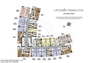 Uptown Parksuites Low Zone High Res Typical Floor Plan